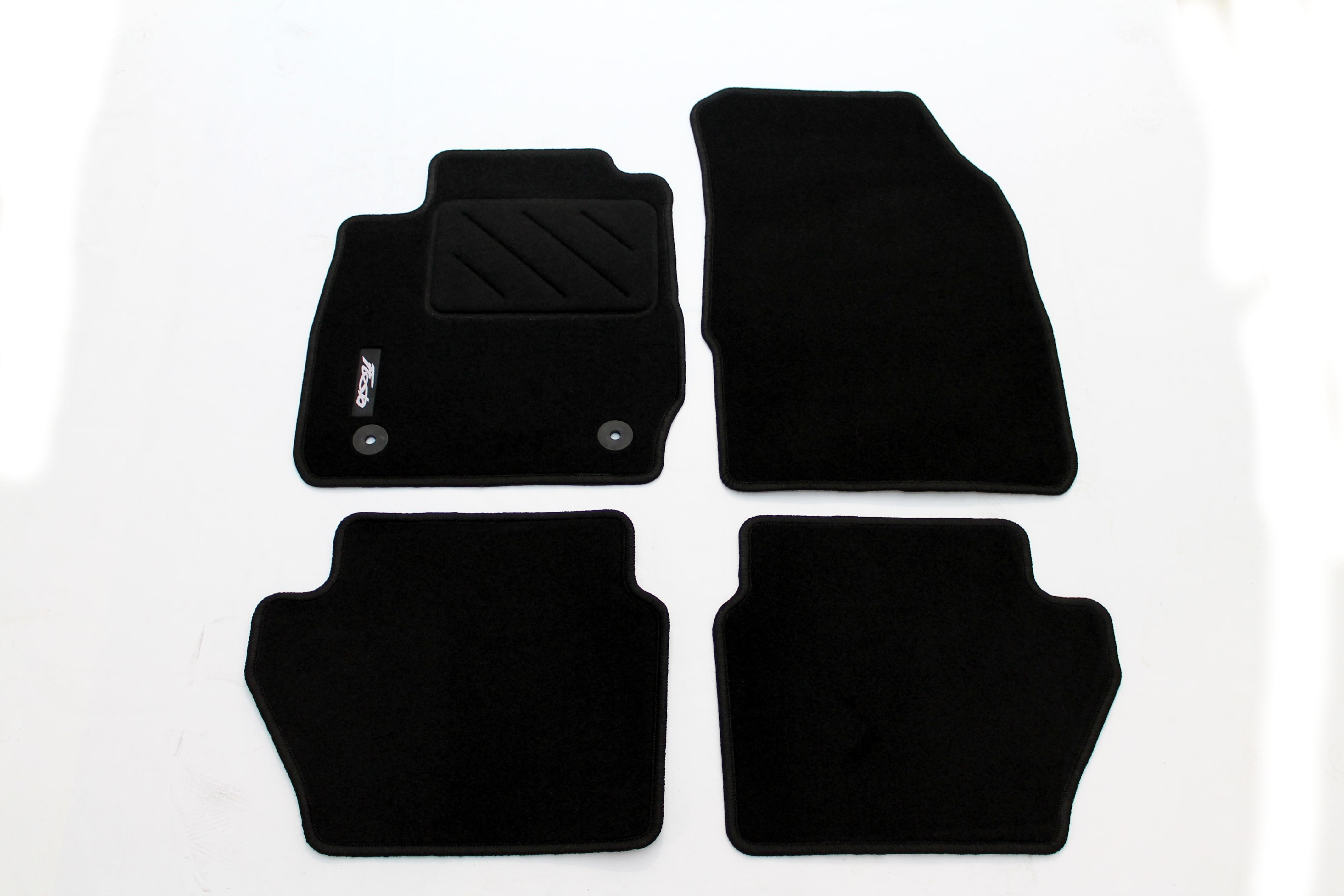 original ford fiesta mk7 ab 02 2011 fussmatten satz 4 teilig 1947555 neu ebay. Black Bedroom Furniture Sets. Home Design Ideas