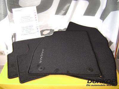opel insignia original fu matten velour 1723065 ebay. Black Bedroom Furniture Sets. Home Design Ideas