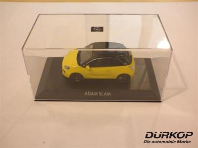 opel adam slam 1 43 modellauto sunny yellow neu ebay. Black Bedroom Furniture Sets. Home Design Ideas
