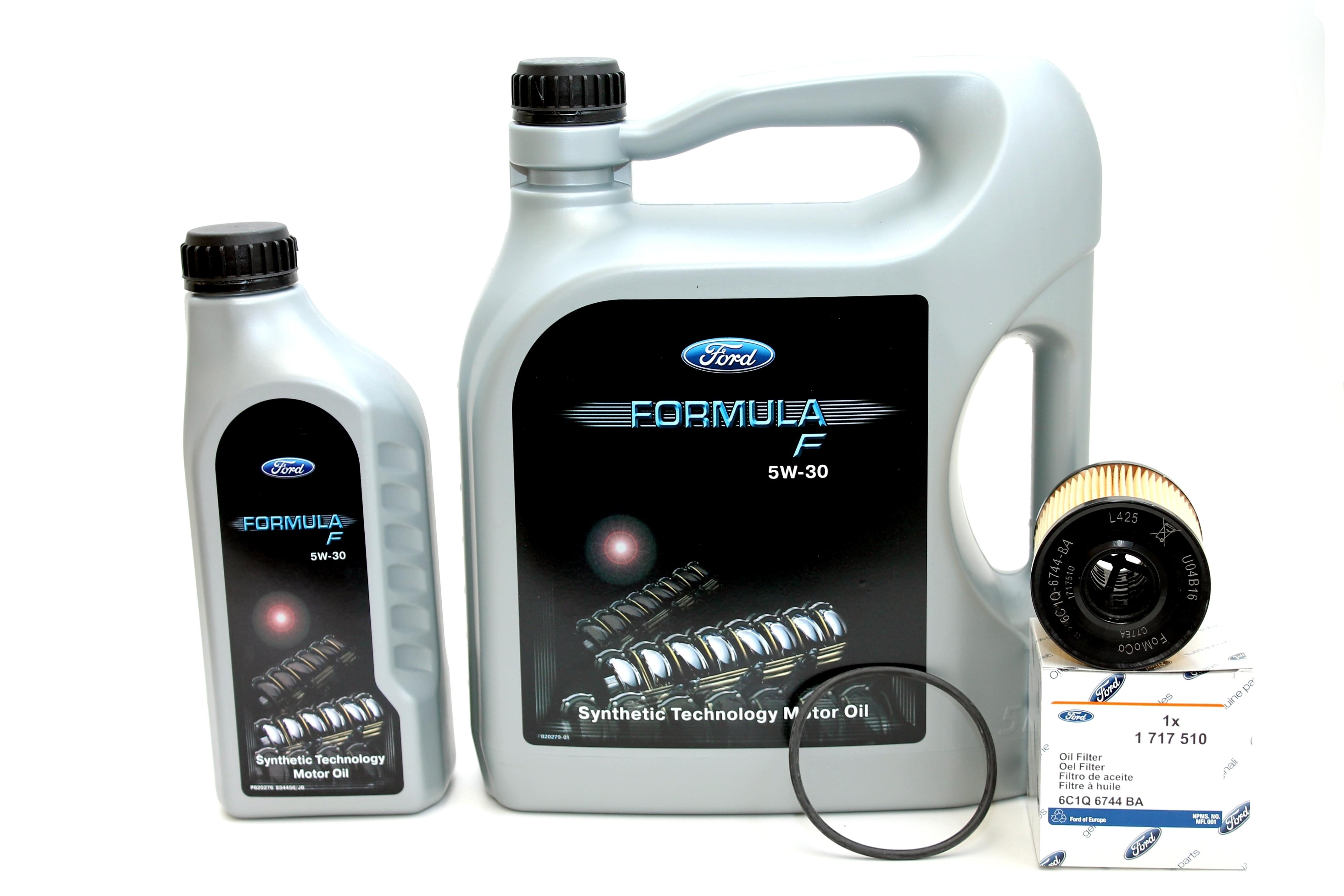 ford formula f 5w30 motor l 14e9ec 6 liter original ford. Black Bedroom Furniture Sets. Home Design Ideas