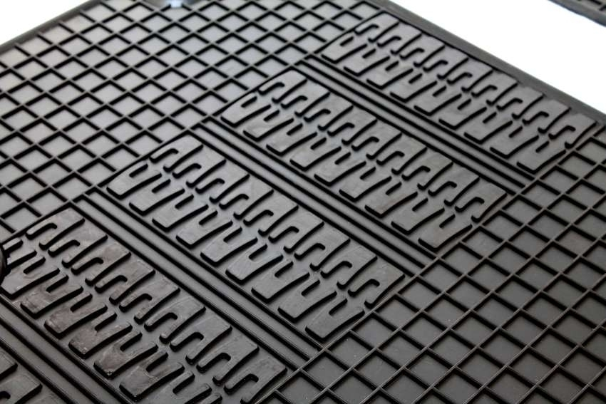 Gummimatten Fiat 500 Gummi Fußmatten Gummifußmatten Satz 4 Teilig